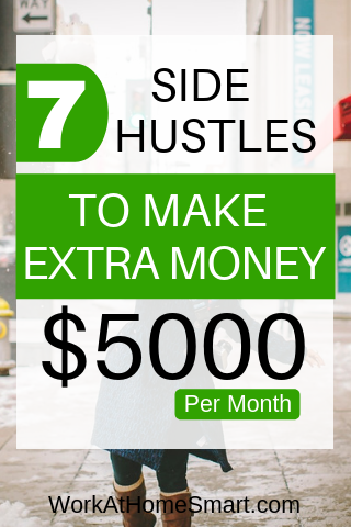 7+ Side Hustles To Make Extra Money Working From Home