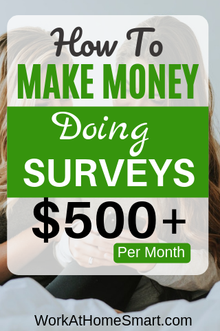 How To Make Money Doing Surveys (Over $500/Mo)