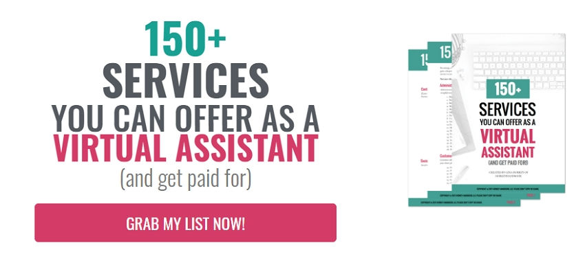 150 services you can offer as a virtual assistant