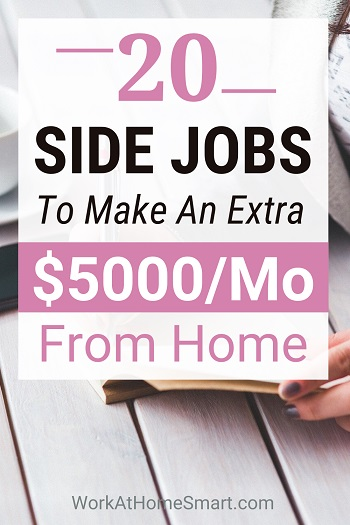 Online Side Jobs to Make Extra Money from Home