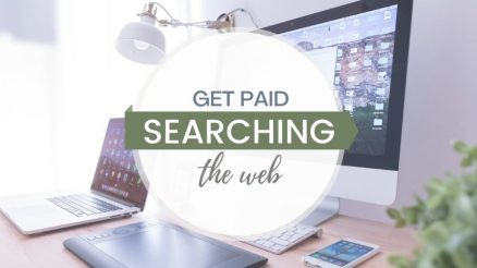 How to get paid for searching the web