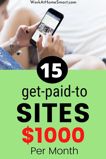 15 get paid to sites