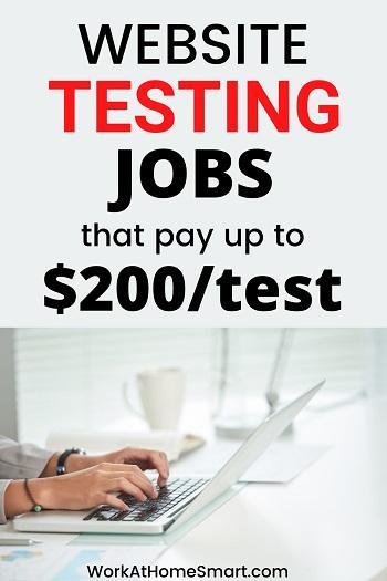 20 Website Testing Jobs - Get Paid To Test Websites