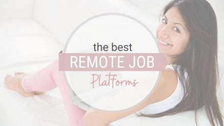 the best remote jobs from home