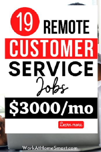 Remote Customer Service Jobs from Home